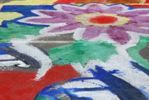 Pavement Painting