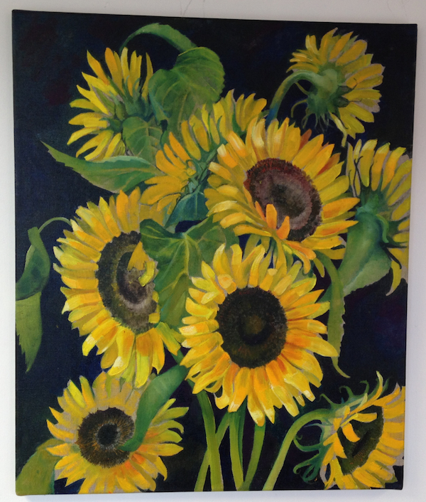 Sunflowers by Sue Faux