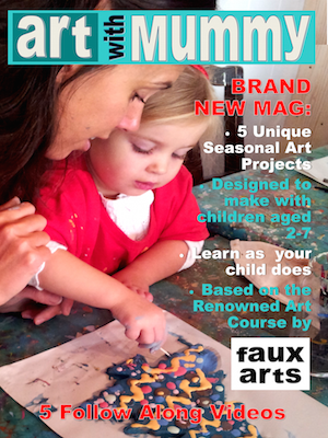 Art with Mummy cover Issue 4