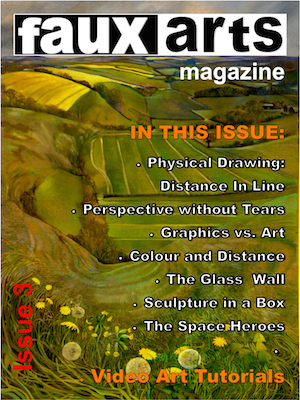 Faux Arts cover Issue 3