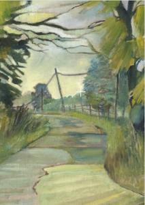 Wiltshire Landscape Culleys Farm track