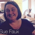 Sue Faux at Faux Arts Studio