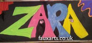 children's art parties faux arts