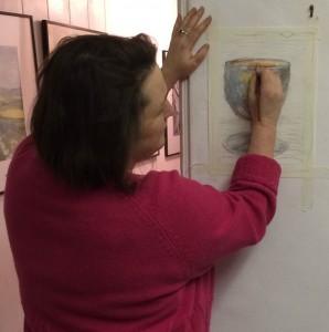 Sue Faux, Founder Faux Arts/Art with Mummy® Lead Artist/Teacher