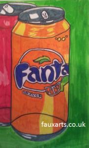 Faux Arts Pre GCSE Art Class